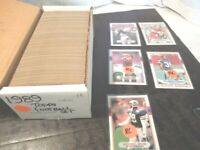1989 Topps Football Complete Set 396 cards Near Mint  Lot card Collection
