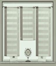 3er Set Flächenvorhang Scheibengardine Bistrogardine 2222 30x60/2x30x80cm  Beige