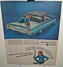 1966 Dodge Polara Advertisement