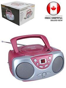 Curtis SRCD243M-PINK Sylvania SRCD243 Portable CD Player