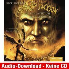 Hörbuch-Download (MP3) ★ R. Riordan: Percy Jackson, Teil 4: Die Schlacht um das…