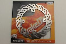 Delta Rear Wavy Brake Disc MX Motocross Race For Honda CR125/250 2005 2006 2007