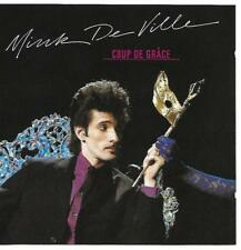 "MINK DE VILLE  "" Coup De Grace "" 1981  CD   Excellent."