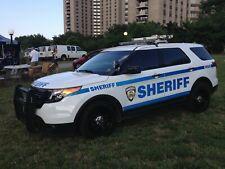GREEN LIGHT POLICE NEW YORK SHERIFF FORD EXPLORER 2020 CUSTOM KITBASH UNIT