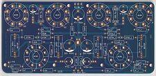 6V6 Pp Dynaco 10W Thd 0.4% very musical tube power stereo amplifier Pcb 1 pc !