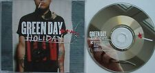 GREEN DAY   __   HOLIDAY   __  3 Track  CD   __   Billie Joe Armstrong  __ PUNK
