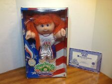 CABBAGE PATCH KIDS OLYMPIKIDS DOLL BASKETBALL 1996 NEW, OPEN BOX