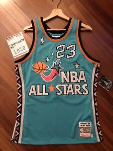Mitchell & Ness Michael Jordan 1996 All Star Jersey Size Medium Upside Down # 2
