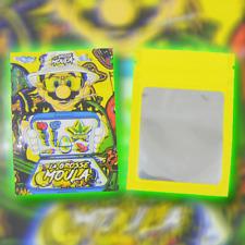 LOT DE X100 POCHON MARIO GROSSE MOULA SACHET ZIP PLASTIQUE POCHETTE SACHETS 3g