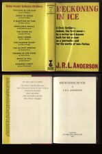 1971 J.R.L. Anderson RECKONING IN ICE, Gollancz Thriller 1st Edition, withD/J