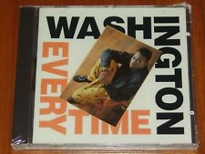 WASHINGTON - EVERY TIME - (GOSPEL RAP) FRONTLINE 1990 STILL SEALED CD