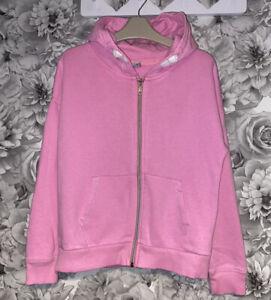 Girls Age 10 (9-10 Years) TU Sainsburys Hooded Zip Up Top