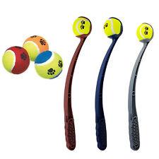 3 Tennis Balls & 1  Ball Launcher For Dogs Pet Puppy(HT6876)