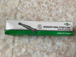 NEW. Jewellers Wonder Ring Stretcher Rathbun Style Small Mandrel Nylon Base