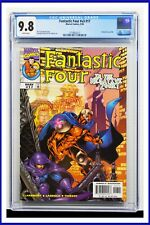 Fantastic Four #v3 #17 CGC Graded 9.8 Marvel May 1999 White Pages Comic Book