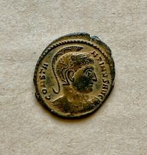 Constantine I the Great (306–337 Ad), bronze follis with a beautiful patina.