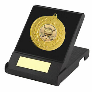Rugby, Archery, Golf Medal in Box, Football Award, Shooting Trophy, Birthday Box