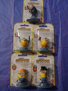 Minions Rise Of Gru Micro Figures Set of 5 Mattel B7