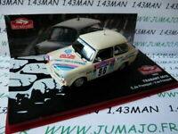 RMC18M voiture 1/43 IXO altaya Rallye Monte Carlo TRABANT 601S De Fresquet 1992