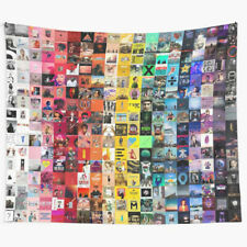 Music Collage Wall Tapestry