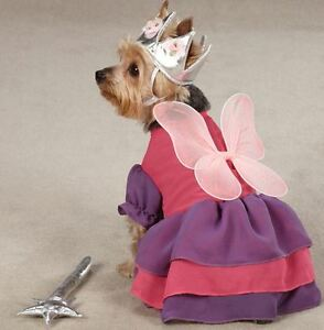 Zack & Zoey Fairy Princess Dog Halloween Costume XS-L Pet