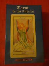 TAROT ANGELS ANGELES 78 CARDS DECK SPECIAL EDITION BIG SIZE MADE IN ARGENTINA