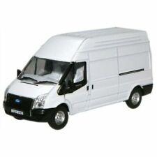 Oxford Diecast 76FT006 Ford TRANSIT Van LWB in White 1 76