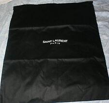 YSL Yves Saint Laurent Paris Dust Bag Black Large