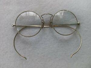 AO Cortland American Optical Silver Antique Victorian Art Deco Eyeglasses