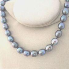 Perlen aus Zucht-Halsketten mit echten Mischmetall