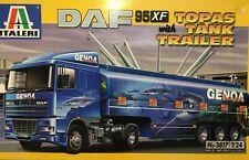 ITALERI - DAF 95 XF WITH TOPAS TANK (TANKER) TRAILER - MODEL KIT 3817