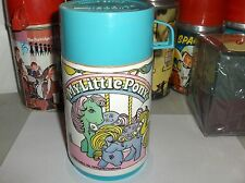 My Little Pony`1989`Hasbro Inc.Aladdin`Plastic Lunch Box-Thermos-:>Free To US