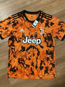 Ronaldo #7 Juventus Away Jersey Size Medium Adults Replica