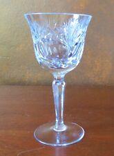"""Nachtmann Andernach Cut Crystal Clear 6"""" Wine Goblet(s)"""