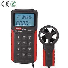 Uni T Ut362 High Precision Anemoscopes Tester Meter Usb Interfaceair Wind Speed