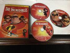2 Disney Pixar - The Incredibles Dvd Lot: 1 & 2