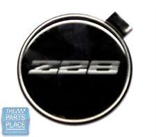 1982-92 NOS Camaro Z28 Center Cap Emblem 3 Shades Of Silver - GM 14035332