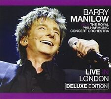 Live in London [CD/DVD] [Deluxe Edition] [Digipak] by Barry Manilow (CD, Apr-2012, 2 Discs, Stiletto Entertainment)
