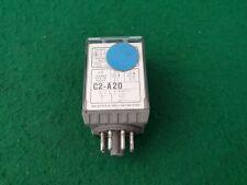 Releco C2-A20  Relay 110 Volt Coil 10 Amp 8 Pin