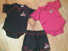 St. Louis Cardinals 18 Months 3 Piece Outfit Bodysuits Shorts Free Shipping!