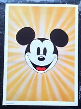 Walt Disney PRINT Rare Vintage 1977 Mickey Mouse Cartoon Art Classic Cinema OOP