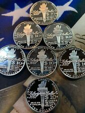 2003 NORFED $10 1-oz.999 FINE SILVER COINS  VERY RARE IN MINT CONDITION