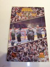 Anaheim Mighty Ducks 1997-98 Official NHL Media Guide-NEW