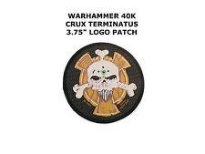 Space Marine Crux Terminatus Sergeant Badge Warhammer 40k Sew On Applique Patch