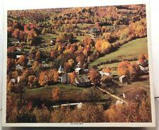 Vintage Whitman 1500 Piece JIGSAW Puzzle! East Topsham, VERMONT! Sealed! # 4681