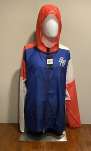 Nike Blue Ribbon Sports Track Club Packable Running Jacket CJ4502-492 Size 2XL