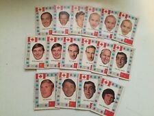 Team Canada 16 count hockey cards lots deal 1970s