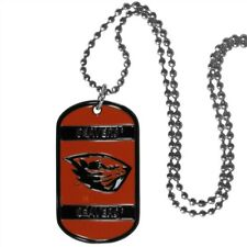 Oregon State Beavers Dog Tag Necklace Ncaa Fan Neck Ball Chain College Sports