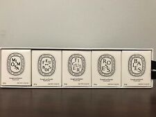Diptyque Set Of 5 Candles 5x1.23oz