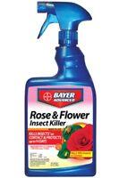 BioAdvanced 708570A Rose & Flower Insect Killer, 24 Oz